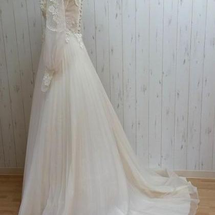 Charming Wedding Dresses,White A-li..