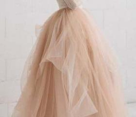 Champagne Tulle Home..