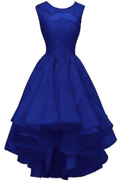 Charming Prom Dress,Lace Prom Dress,Royal Blue Prom Dress,Fashion Prom Dress,Sexy Party Dress, New Style Evening Dress,H1462