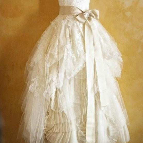 Cheap Handmade Lace Wedding Dresses with Sash, Wedding Gowns, Bridal Dresses, Bridal Gowns, Strapless Wedding Dress, Ball Gown Wedding Dress,W1467